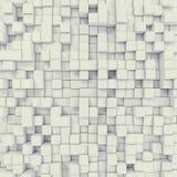 Kubieke abstracte achtergrond 3D Illustratie royalty-vrije illustratie