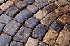 Kubieke steen stock afbeelding