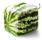 Kubieke watermeloen Royalty-vrije Stock Afbeeldingen