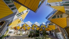 Kubikhäuser in Rotterdam Lizenzfreies Stockfoto