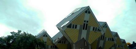 Kubikhus i Rotterdam, Nederländerna Royaltyfria Bilder