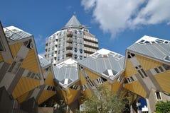 Kubikhusen av Rotterdam 5 Fotografering för Bildbyråer
