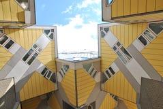 Kubikhusen av Rotterdam Royaltyfri Fotografi