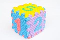 kubiknummer Royaltyfri Bild