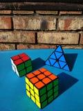 KubikRubika στοκ φωτογραφία με δικαίωμα ελεύθερης χρήσης