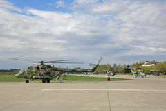 Mi-8 helicopter Stock Photos