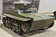 Soviet amphibious light tank T-37A Stock Images