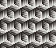 kubmodellvektor Arkivbilder