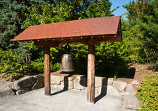 Kubota Garden bell Royalty Free Stock Images