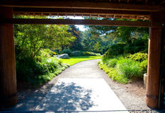 Kubota Garden entrance Stock Photography