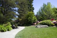 Kubota Japanese garden, Seattle, May Stock Images