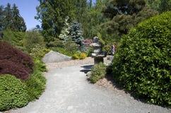Kubota japanträdgård Seattle Washington arkivbild