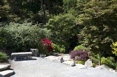 Kubota japanträdgård Seattle Washington royaltyfria bilder