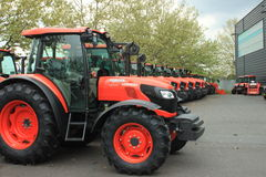 Kubota machinery Stock Photo