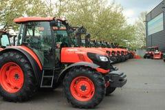 Kubota machinery Stock Photo