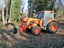 Kubotala1153 Tractor royalty-vrije stock fotografie