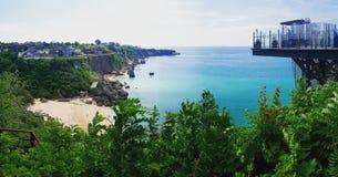Kubu plaża zdjęcie royalty free
