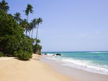 Kubulgama beach close to Mirissa, Sri Lanka Stock Photos