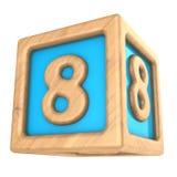 kubus 8 royalty-vrije illustratie