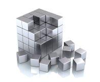 Kubus en blokken vector illustratie