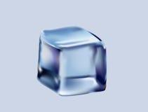 Kubus van ijs Stock Afbeeldingen