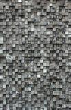 Kubus zwart hout royalty-vrije stock afbeeldingen