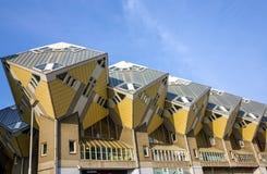 Kubushuizen in Rotterdam, Nederland Royalty-vrije Stock Afbeeldingen