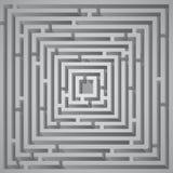 Kubuslabyrint Royalty-vrije Stock Afbeelding