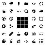 Kubuspictogram Gedetailleerde reeks minimalistic pictogrammen Premie grafisch ontwerp Één van de inzamelingspictogrammen voor web royalty-vrije illustratie