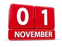 Kubussen 1st November Stock Afbeeldingen
