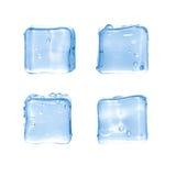 Kubussen van ijs Royalty-vrije Stock Afbeelding