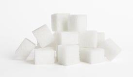 Kubussen van suiker royalty-vrije stock fotografie