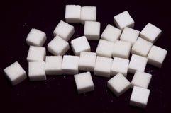 Kubussen van suiker Stock Afbeeldingen