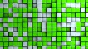 kubvägg Arkivfoton