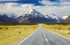 kucbarska góra nowy Zealand Zdjęcia Royalty Free