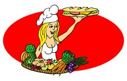kucbarska kanapka ilustracji