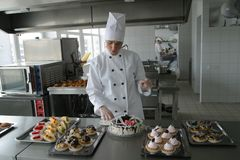kucbarska kuchnia Obraz Stock