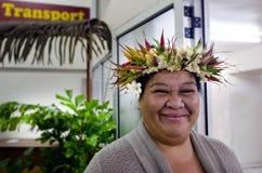 Kucbarska wyspiarki kobieta Zdjęcia Royalty Free