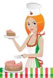 kucbarski ciasto Obraz Stock