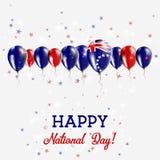 Kucbarskich wysp dnia niepodległości Błyskać Patriotyczny Zdjęcie Royalty Free