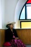 Kucbarskich wysp ludzie one modlą się przy kościół CICC Zdjęcia Royalty Free
