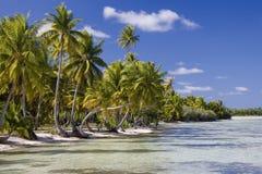 kucbarskich wysp pokojowi raju południe tropikalni Fotografia Royalty Free