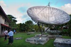Kucbarskich wysp stacja telewizyjna - Avarua Zdjęcie Stock