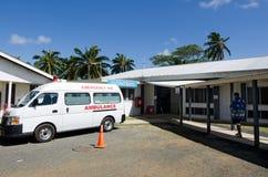 Kucbarskiej wyspy szpital w Rarotonga Kucbarskich wyspach zdjęcie stock