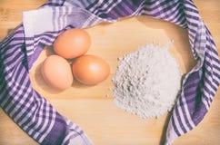 kucharstwa chlebowy robienie znaczy Obrazy Stock