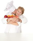 kucharzów owoc drużynowi warzywa Obraz Stock
