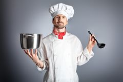 kucharz Zdjęcie Stock