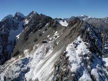 kucharz aoraki góry park narodowy zdjęcie royalty free