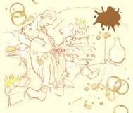 kucharzi ilustracja wektor