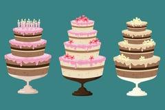 Kuchen! Lizenzfreies Stockfoto
